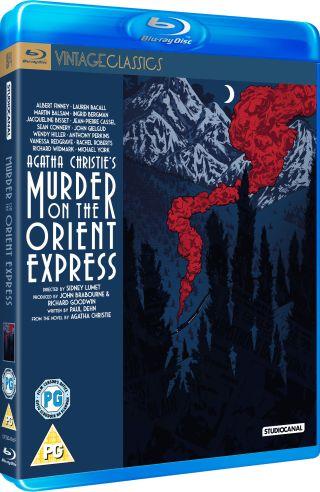 Agatha Christie Murder on the Orient Express 1974 Blu-ray