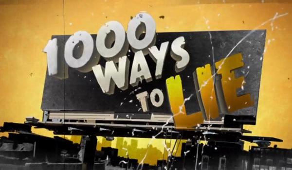 1,000 ways to lie