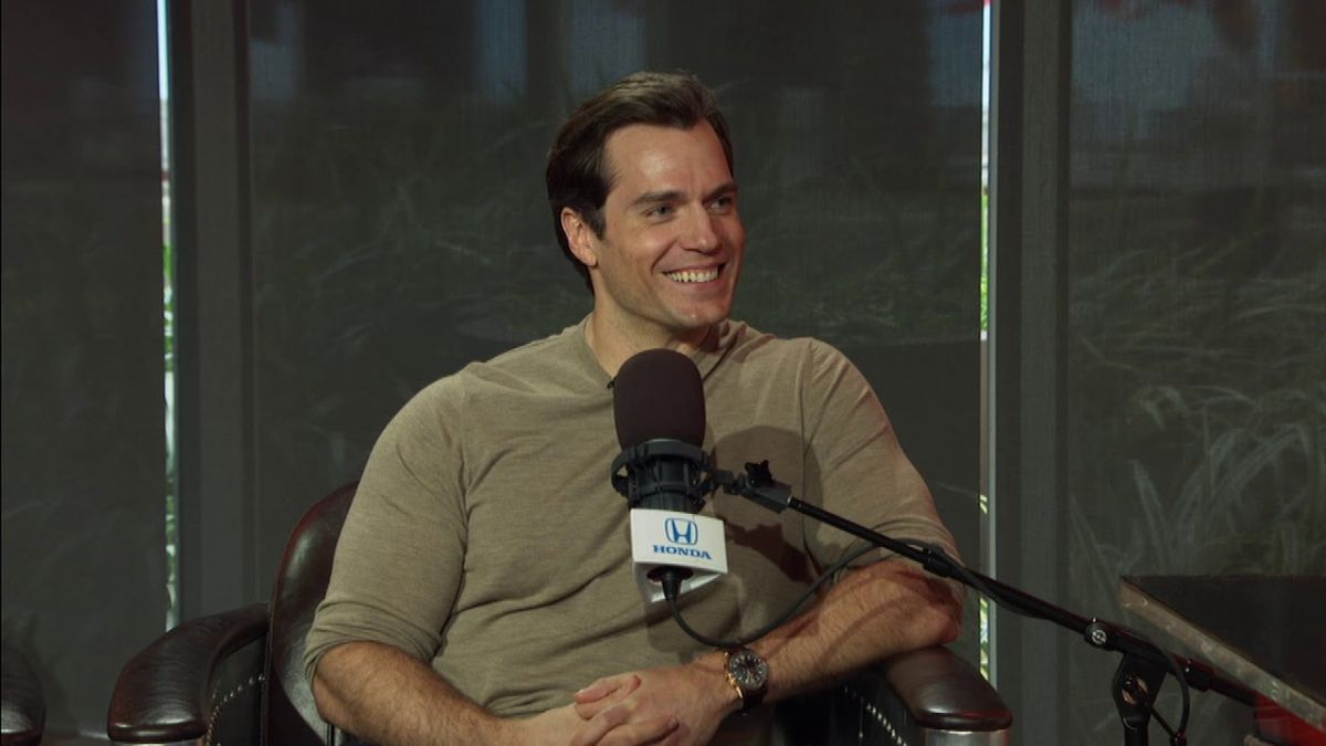 Henry Cavill rejects your notion of a 'gaming man cave'