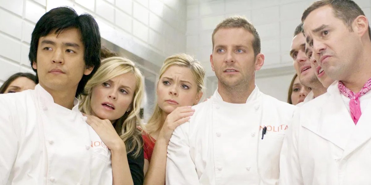 Bradley Cooper and the cast of Kitchen Confidential