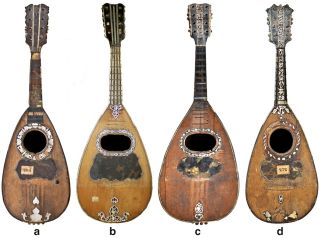 mandolins from 18th century naples