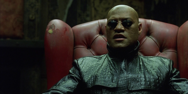 The Matrix Morpheus Lawrence Fishburne
