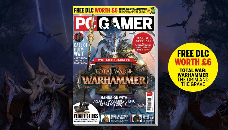 PC Gamer UK July issue: Total War: Warhammer 2 | PC Gamer