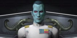 Star Wars' Thrawn Novel Author Reacts To That Mandalorian Reference
