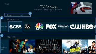 Charter Communications' Spectrum Guide OS