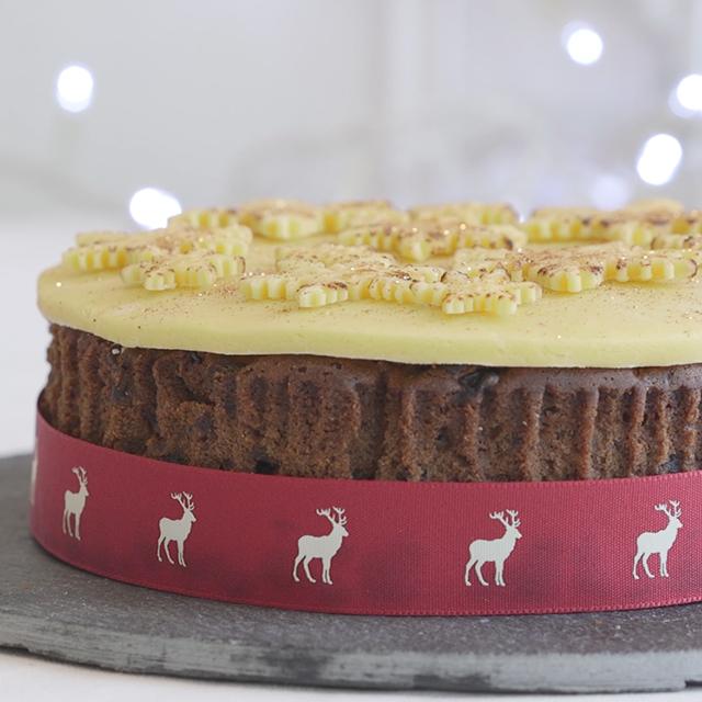 easy christmas cake recipe