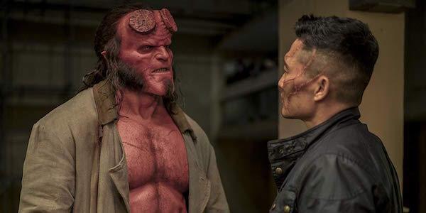 Hellboy and Ben Daimio