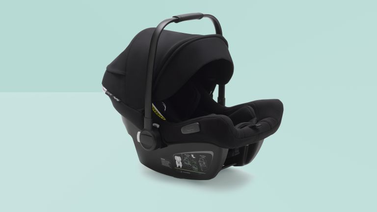 New Bugaboo Turtle Air by Nuna is an ultra-lightweight car and stroller seat in one