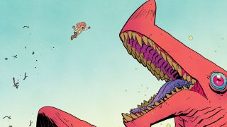 Jonna and the Unpossible Monsters #1 is light on dialogue and big on action