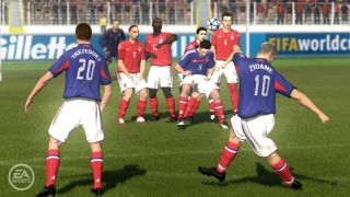 Zidane in FIFA 06