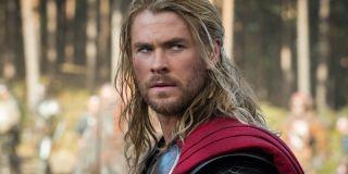 Chris Hemsworth as Thor in Thor: The Dark World