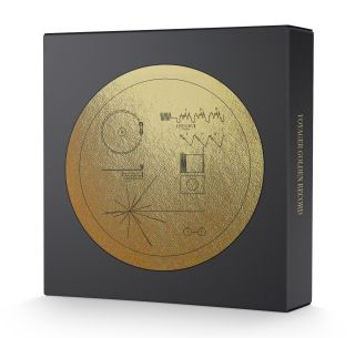 Voyager Golden Record Kickstarter Replica Box