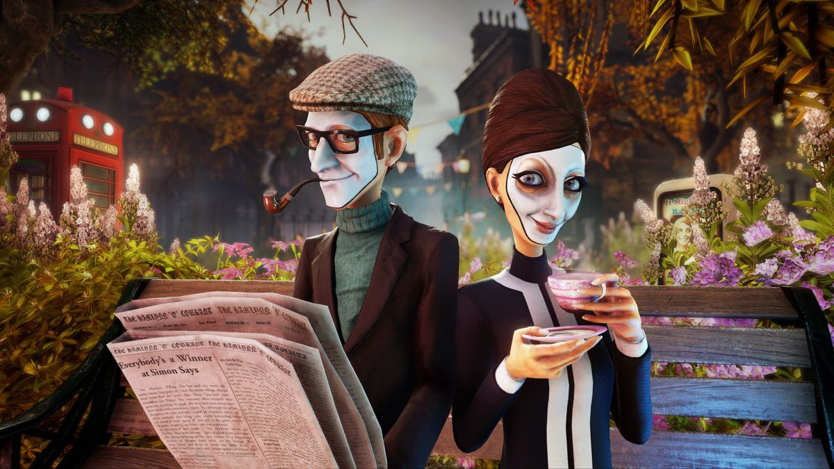 Tito Belgrave's creepy characters make We Happy Few even eerier