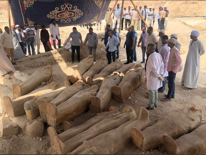 In Photos: 'Cachette of the Priests' Discovered in Luxor