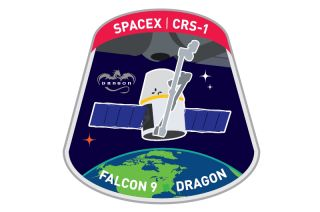 Space Dragon Mission Patch