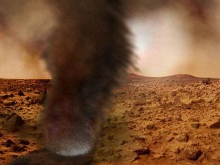 Chasing Dust Devils from Earth to Mars