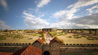 The team, from the Ludwig Boltzmann Institute for Archaeological Prospection and Virtual Archaeology (LBI ArchPro), created digital reconstructions of what the area around the amphitheater would have looked like.