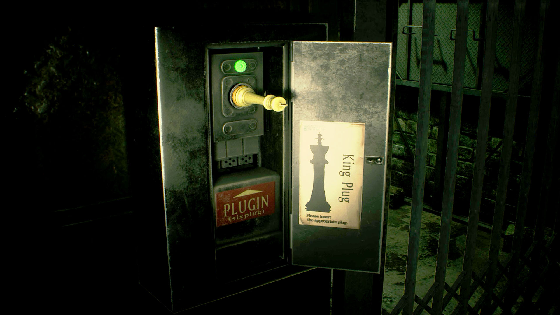 How to solve the Resident Evil 2 Remake chess plug puzzle - where to