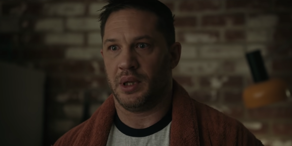 Tom Hardy in Venom: Let There Be Carnage's trailer