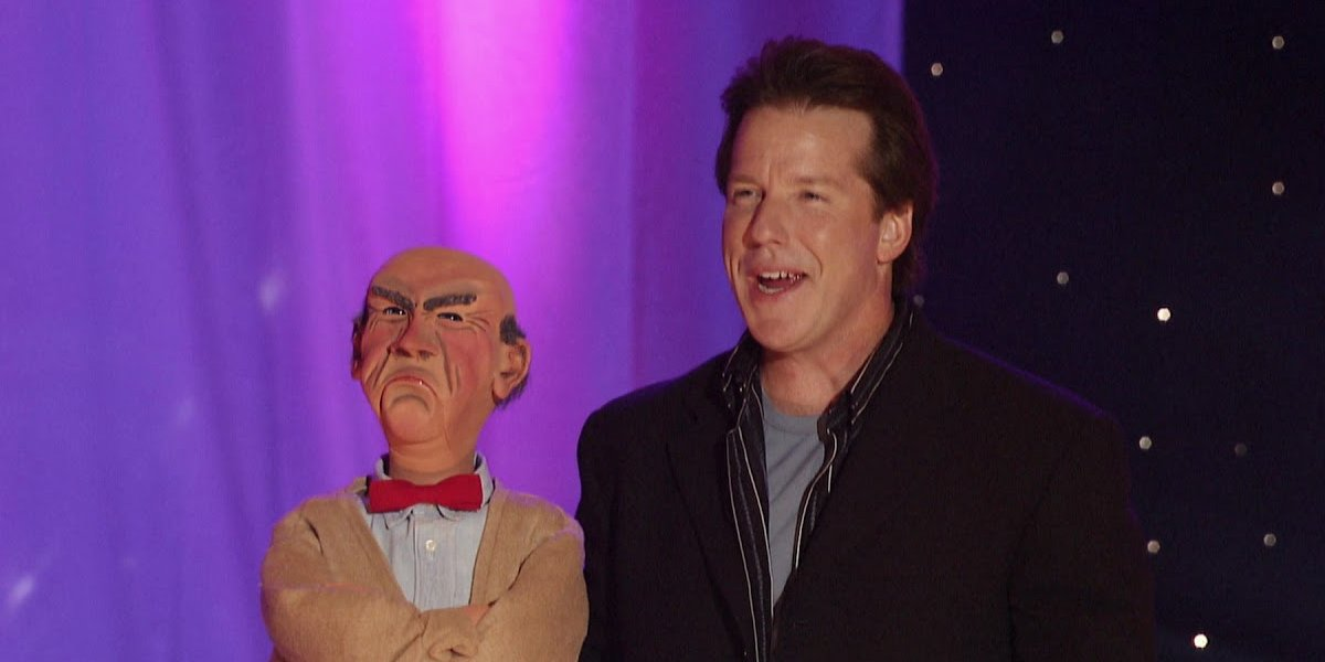 Jeff Dunham with Walter in Arguing with Myself