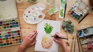 watercolour techniques / watercolour painting