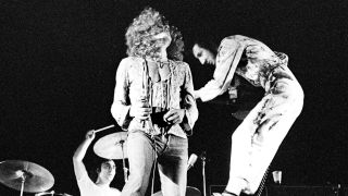 The Who perform live on stage in Amsterdam, Netherlands on September 17 1970