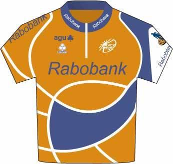 Tour de France 2007 Rabobank jersey