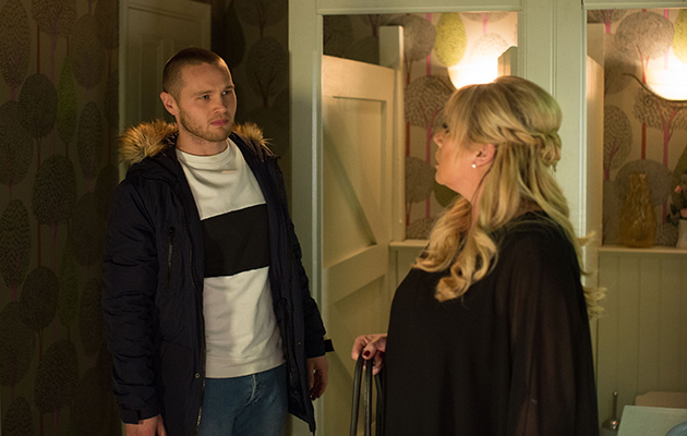 EastEnders Keanu Taylor and Sharon Mitchell
