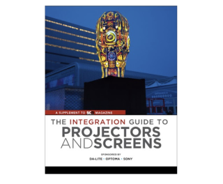 2019 Integration Guide to Projection and Screens