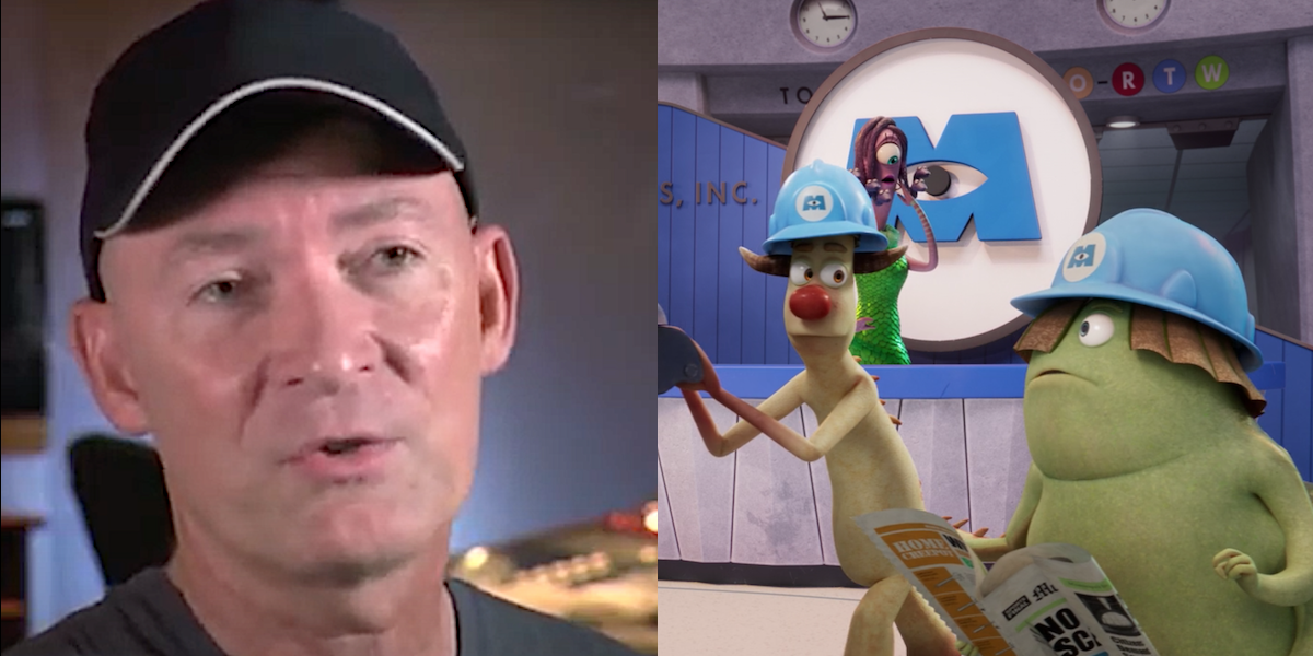 Monsters at Work Stephen Stanton as Needleman and Smitty