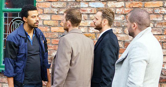 Luke Britton, Aidan Connor, Justin Parker, Dale Parker