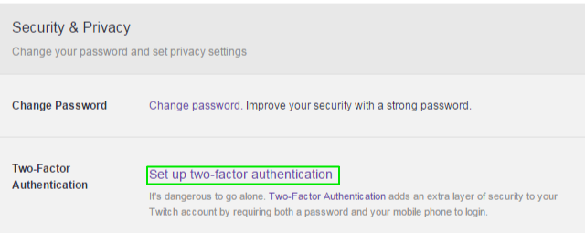 How to Enable Two-Factor Authentication on Twitch   Tom's Guide