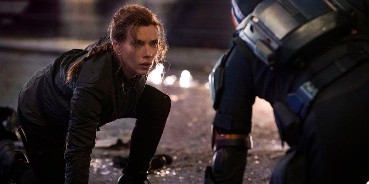Black Widow Natasha vs Taskmaster