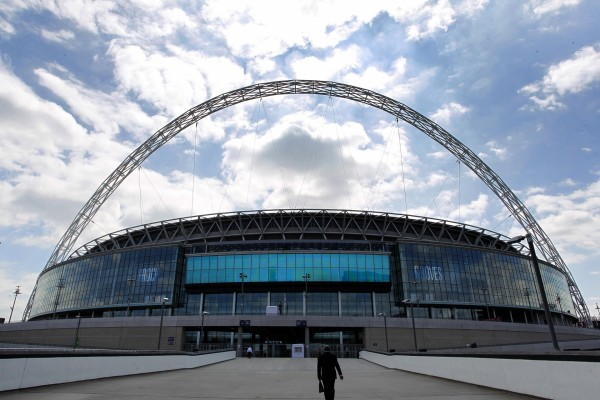 The device was found near Wembley Stadium (Peter Byrne/PA)