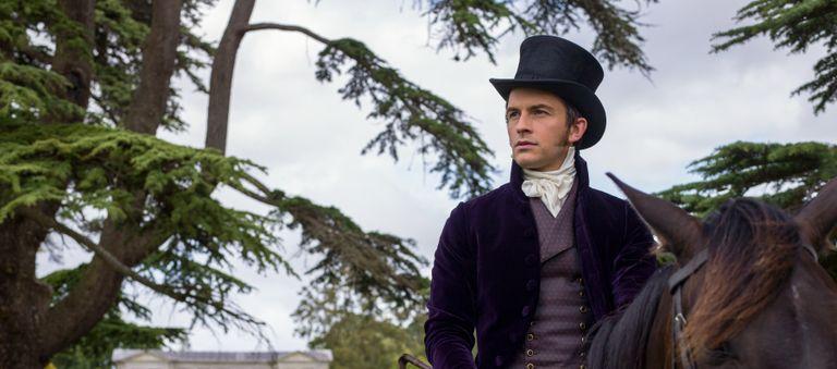 Jonathan Bailey as Anthony Bridgerton in Bridgerton on Netflix