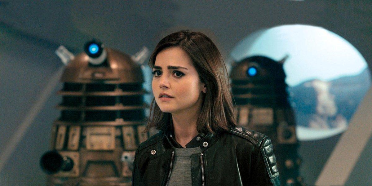 jenna coleman clara oswald bbc doctor who
