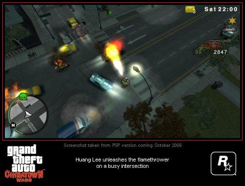 Grand Theft Auto: Chinatown Wars PSP Screenshots #8999
