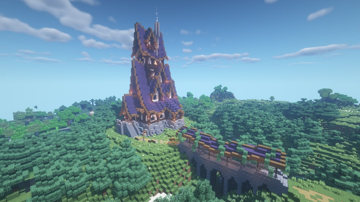 Best Minecraft mansions: Be inspired to build your own  PC Gamer