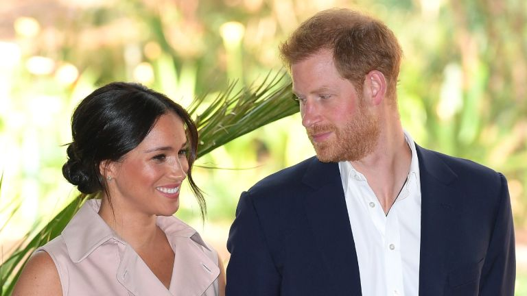 Prince Harry and Meghan Markle attend a reception to celebrate the UK and South Africa's important business and investment relationship
