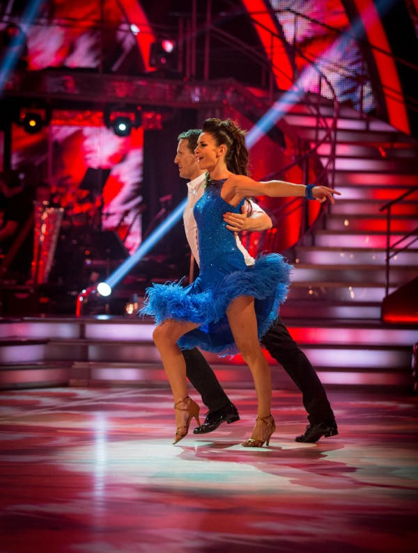 Kirsty Gallacher and Brendan Cole