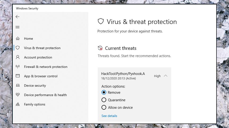 Alert Malware Found