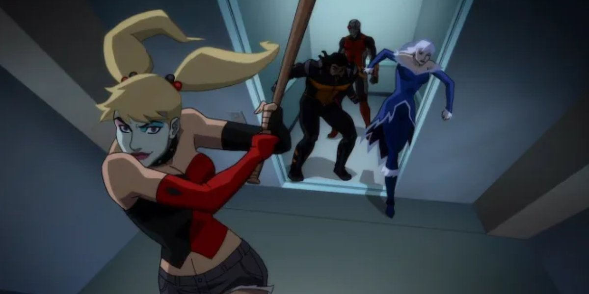 Hynden Walch as Harley Quinn in Suicide Squad: Hell to Pay