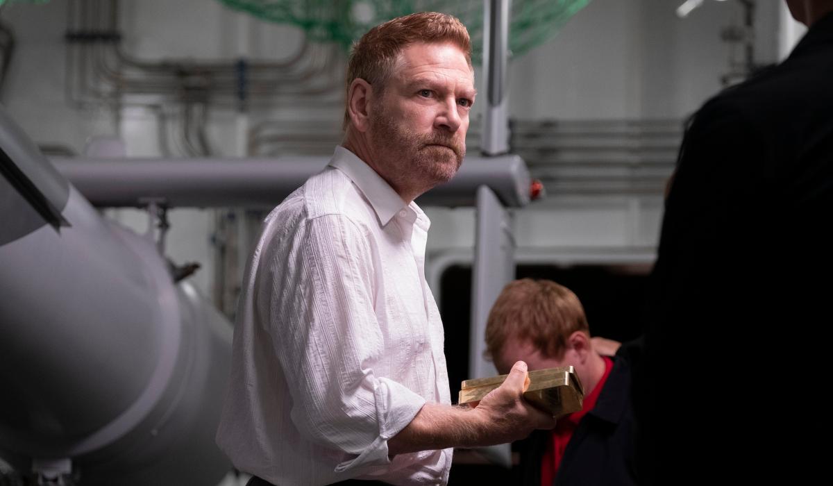Kenneth Branagh in Christopher Nolan's Tenet