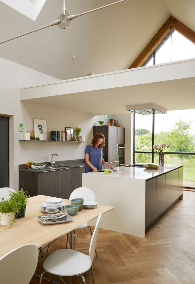 Teresa and Matt Shaw have created a modern extension adjoining their Georgian home