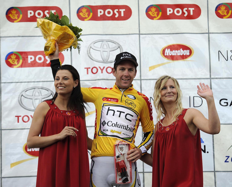 Matt Goss leads, Tour of Denmark 2010, stage one