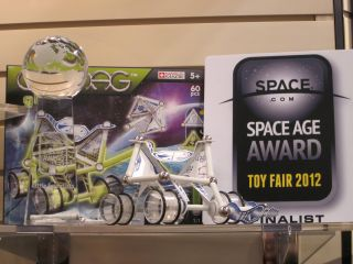The Geomag GLOW Moon Explorer from Reeves International won SPACE.com's 2012 Space Age Award in the category 'Little Scientists.'
