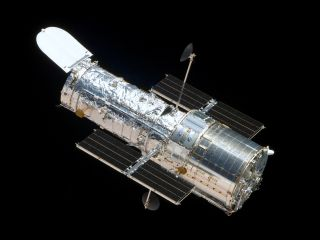 The Hubble Space Telescope as seen during its final servicing mission, in 2009.