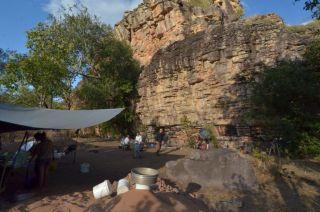 Scientists found evidence of human occupation at the Madjedbebe site in Australia's Northern Territory.