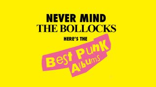 a best punk albums logo in the style of never mind the bollocks
