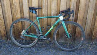 Rebecca Fahringer pro bike